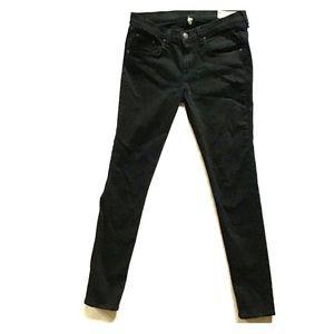 Rag and bone black skinny jeans
